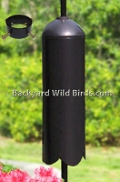 Cylinder Raccoon Baffle For Poles