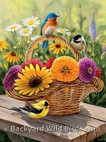 Songbird Bouquet Puzzle