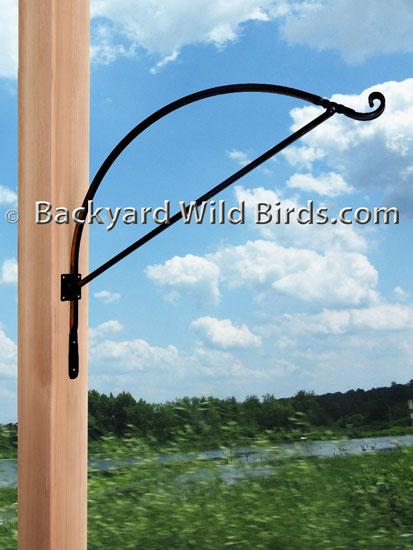 Bird Feeder Hanger Arms at Backyard Wild Birds