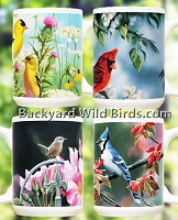 Wild Bird Coffee Mugs