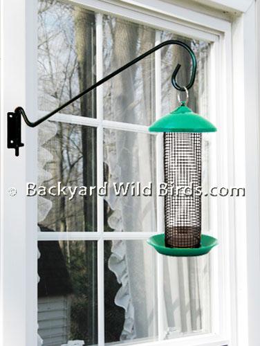 Window Squirrel Defender Bird Feeder