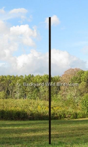 Bird Feeder Pole 5 Ft Section