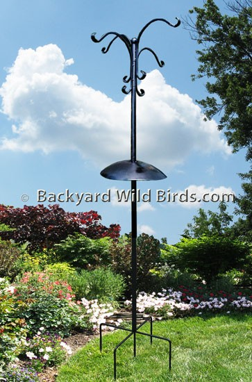 Bird Feeding Station Quad Kit