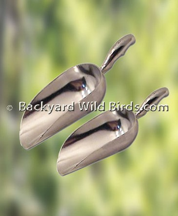 Bird Seed Metal Scoops