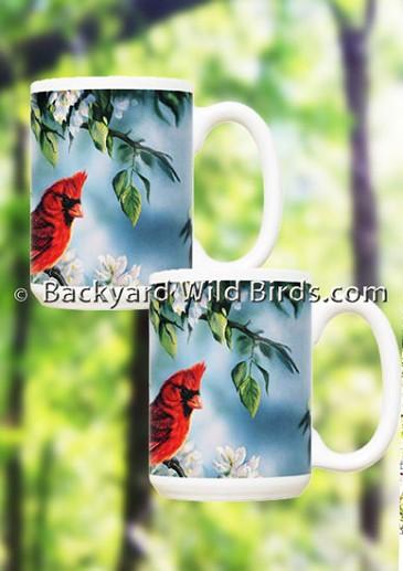 Cardinal Coffee Mug Pair