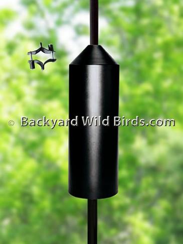 Cylinder Squirrel Baffle at Backyard Wild Birds