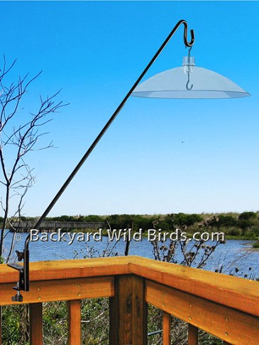 Extended Deck Pole With Baffle