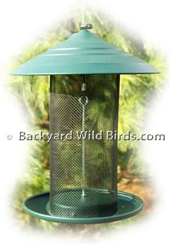 Steel Magnum Thistle Bird Feeder