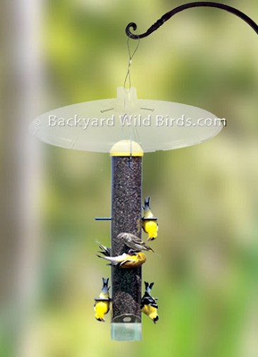 Upside Down Goldfinch Feeder