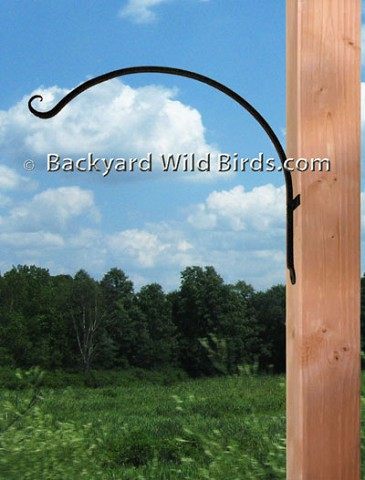 Wall Bird Feeder Hanger Arm