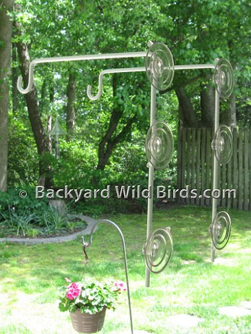 Window Bird Feeder Hooks