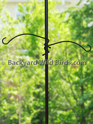 Bird Pole Twist-On Arms