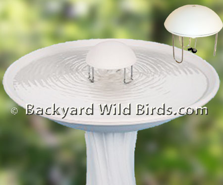 Bird Bath Water Wiggler