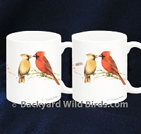 Cardinal Coffee Mug Pair