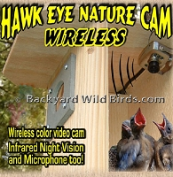 Hawk Eye Wireless Nature Camera