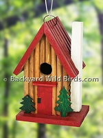 Mountain Cabin Birdhouse