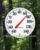 Outdoor Thermometer Big Numbers