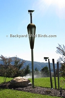 Bird House Pole With Baffle
