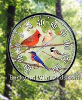 Songbird Outdoor Thermometer