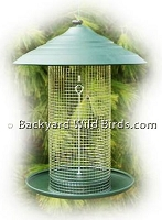 Steel Magnum Sunflower Bird Feeder