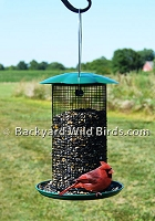 Sunflower Seed Mesh Bird Feeder