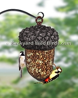 Sunflower Acorn Bird Feeder