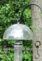 Bird Feeder Weather Dome