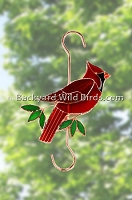 Cardinal Bird Feeder Hook