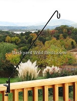 Extended Deck Pole Swing Arm