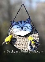 Fat Cat Sunflower Bird Feeder