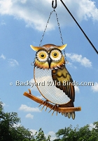 Owl Wire Mesh Feeder