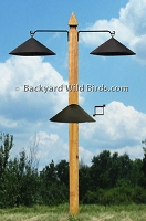 Post Bird Feeder Pole Baffles