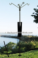 Raccoon Proof Bird S Pole Quad