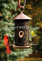 Sunflower Metal Screen Bird Feeder